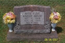 Artie Elsie <i>Kinder</i> Abner