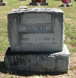 John Adam AD Brown