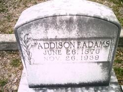 Addison F Adams