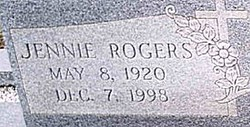 Jennie <i>Rogers</i> Anderson