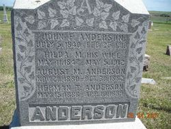 August M Anderson