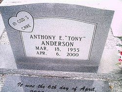Anthony E Anderson