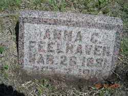 Anna C <i>Anderson</i> Feelhaver