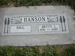 Betty Loraine <i>Clark</i> Hanson