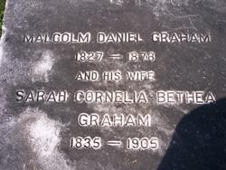 Malcolm Daniel Graham