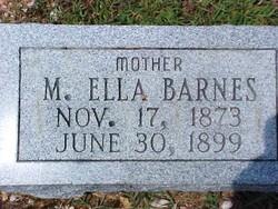 M. Ella <i>Warlick</i> Barnes