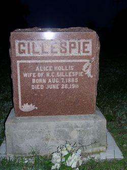 Alice <i>Hollis</i> Gillespie