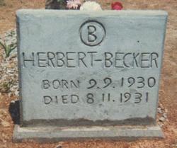 Herbert E. Becker