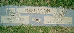C W Tomlinson, Sr