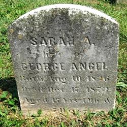 Sarah A. <i>Johnson</i> Angel
