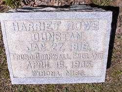Harriet <i>Rowe</i> Dunstan