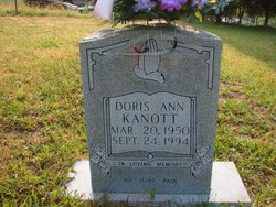 Doris Ann <i>Ousley</i> Kanott