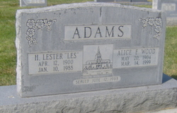 Alice Emma <i>Wood</i> Adams