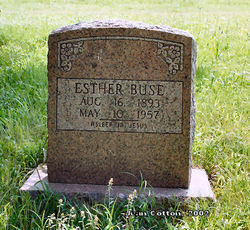 Esther <i>Wallace</i> Buse
