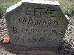 Effie May <i>Hightower</i> Maynard