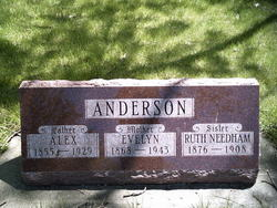 Ruth <i>Needham</i> Anderson