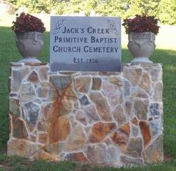 Jacks Creek Primitive Baptist Church Cemetery