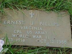Ernest J. Billips