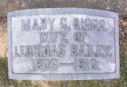 Mary C. <i>Diggs</i> Bailey