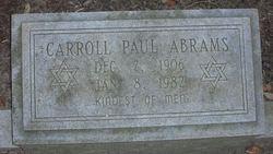 Carroll Paul Abrams
