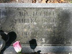 Ida Louise <i>Meeks</i> Cash
