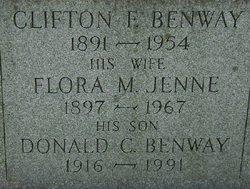 Flora W <i>Jenne</i> Benway