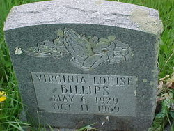 Virginia Louise <i>Lawson</i> Billips