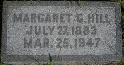 Margaret Harriet <i>Gollehon</i> Hill