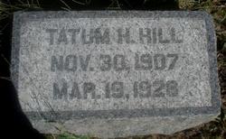 Tatum Honaker Hill