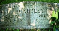 Caroline M Ackerley