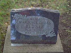 Marjorie Marge <i>Dabbs</i> Bedner