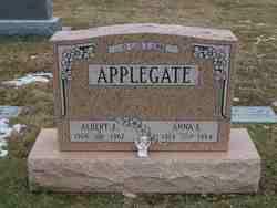 Anna Lillian <i>Stoll</i> Applegate