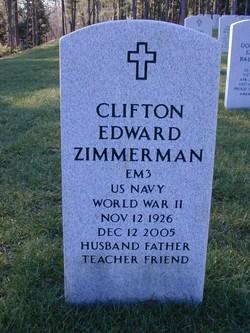 Clifton Edward Zimmerman