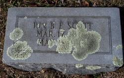 Rev Benjamin Franklin Scott