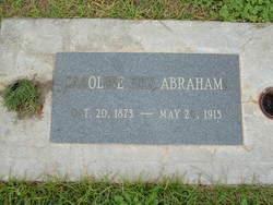 Caroline <i>Feix</i> Abrahams