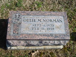 Ollie M. Norman