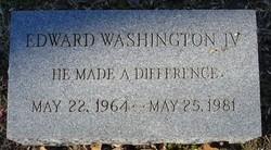 Edward Washington, IV