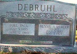 Bessie A. <i>Mercer</i> DeBruhl