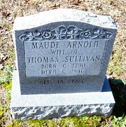 Maude Elizabeth <i>Arnold</i> Sullivan
