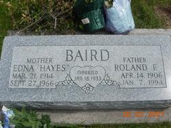 Edna <i>Hayes</i> Baird