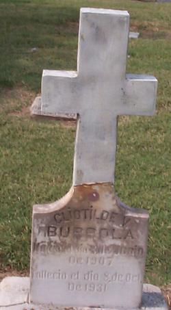 Cliotilde V Burrola