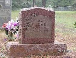 Mary Mae <i>Adams</i> Lowe