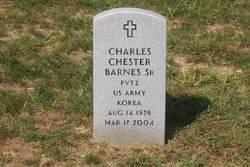 Charles Chester Barnes, Sr