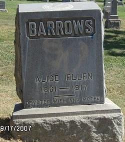 Alice Ellen Barrows
