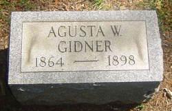 Agusta W <i>Pieper</i> Gidner