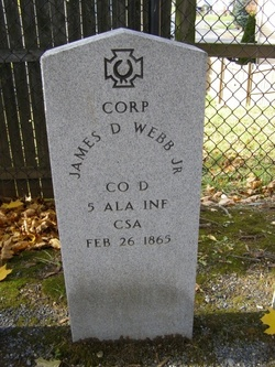 Corp James D Webb, Jr