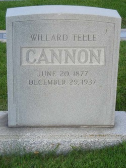 Willard Telle Cannon