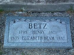 Elizabeth <i>Beam</i> Betz
