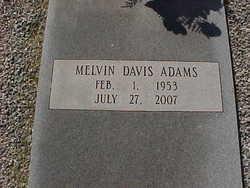 Melvin Davis Adams