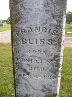 Francis Bliss, Sr